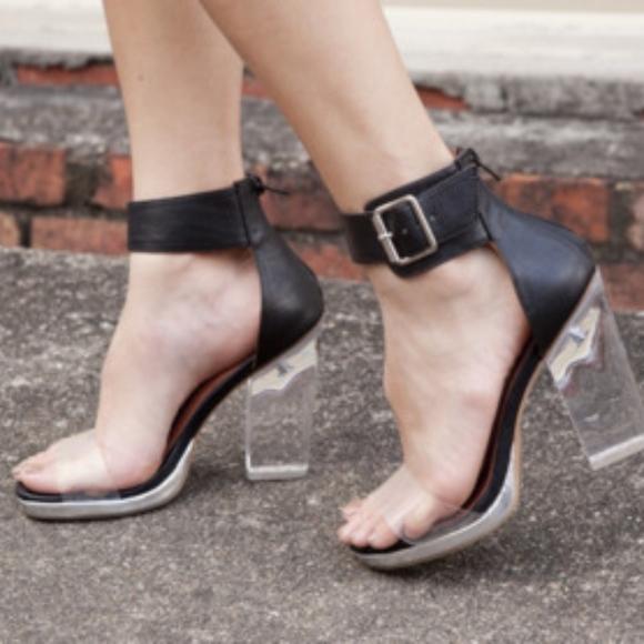 Jeffrey Campbell Shoes - Jeffrey Campbell Soirée Lucite Heels